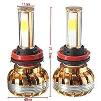 Ecosin Fashion NEW H11 120W CREE LED Headlight Kit 6000K White Car Bulb Lamp Light