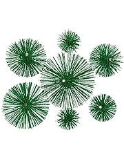 KOTARBAU schoorsteenbezem van kunststof alle maten schoorsteenbezem Plewa keramische roestvrijstalen buis roetborstel schoorsteenreiniger 200 mm groen