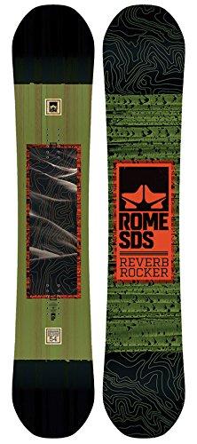 Rome Snowboards Reverb Rocker Snowboard, Multicolor, Size 154 Balance Snowboard Bindings
