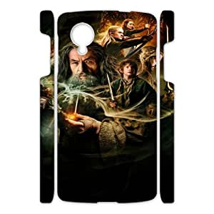The Hobbit HILDA0005256 3D Art Print Design Phone Back Case Customized Hard Shell Protection Google Nexus 5