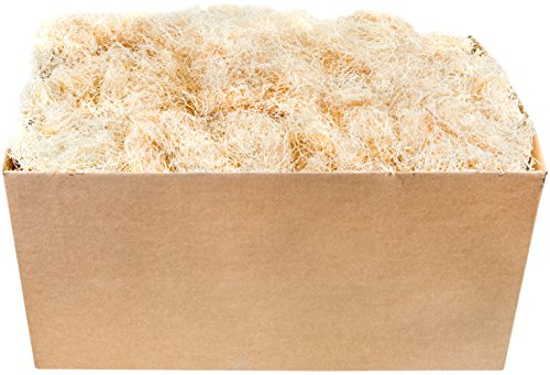 Super Moss (15610) Aspen Wood Excelsior Box Bulk, 10lb, Natural