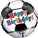 LuftBalloons Std Birthday Soccer Balloon