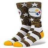 Stance Men's Steelers Banner Socks