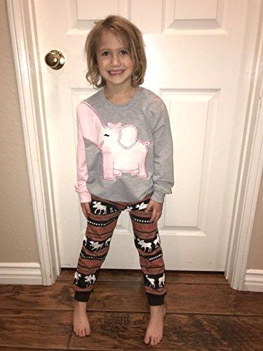 c21f18fd3aabc Girls Toddler Pink Elephant Shirts Sportswear