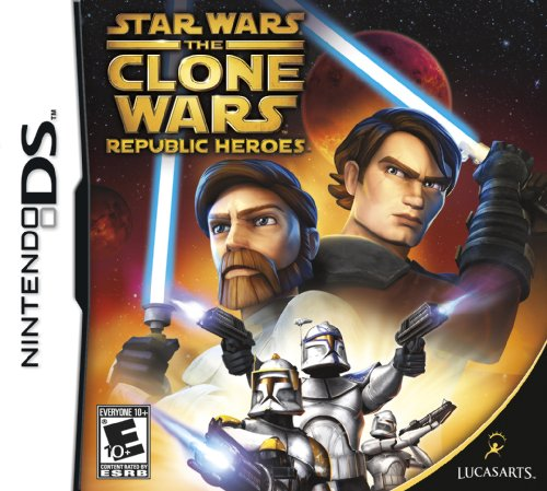 Star Wars the Clone Wars: Republic Heroes - Nintendo DS (Ds Star Wars Games)