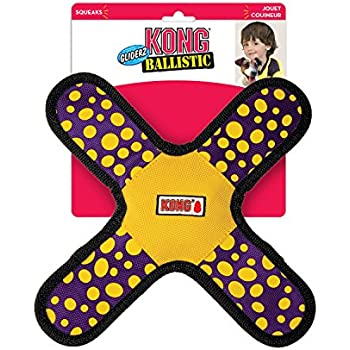 KONG Ballistic Gliderz Assorted Dog Toy, Large