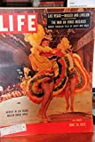 Life Magazine June 20, 1955 - Newest In Las Vegas: Moulin Rouge Girls