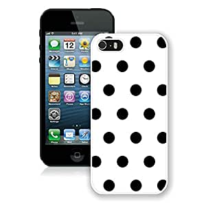 Luxurious And Popular Custom Designed Kate Spade iPhone 5 5s White Phone Case Cover 042