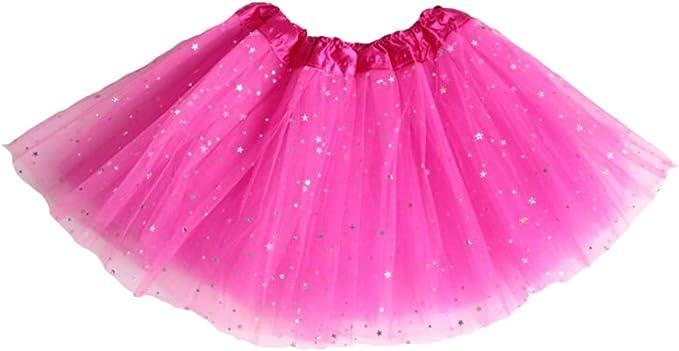 Highdas Bebitas Tutu Falda Estrellas Sequins Organza Ballet ...