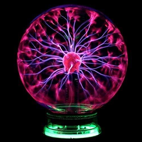 Xungzl Novedad Cristal Magia Plasma Estático Electricidad Bola Luz ...
