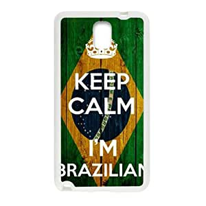 VOV keep calm i'm brazilian Phone Case for Samsung Galaxy Note3