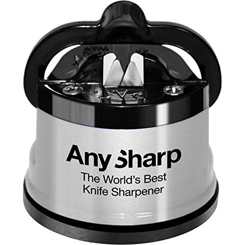 AnySharp Global Sharpener PowerGrip Silver