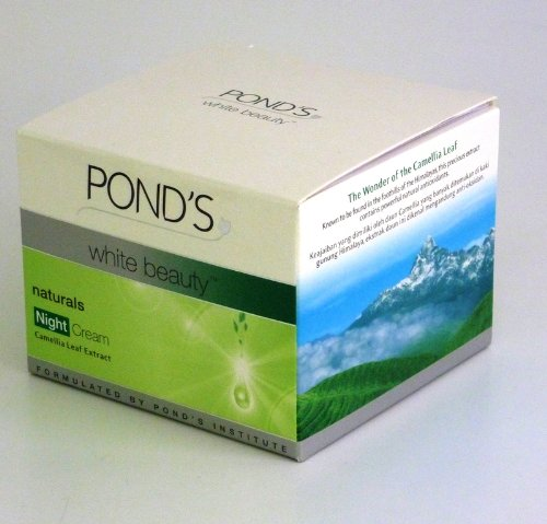 Pond's White Beauty Naturals Night Cream with Camellia ...