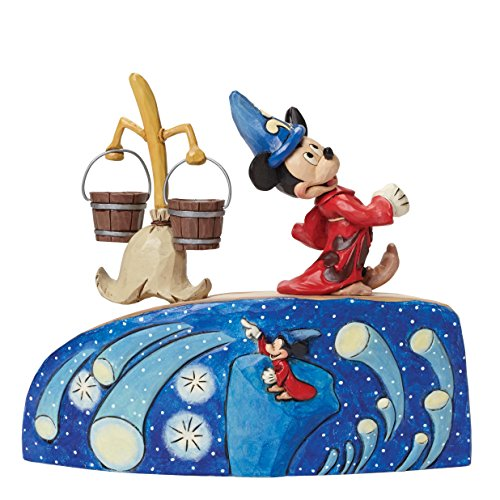 Disney Tradition by JimShore Summoning The Stars-Fantasia 75th Anniversary Figurine, 8-Inch