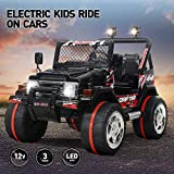 Best Electric Car For Kids - Vosson Kids Jeep Car 12V Power Electric Kids Review