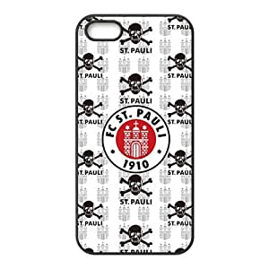 FC ST. Pauli skull Cell Phone Case For Sam Sung Galaxy S5 Cover
