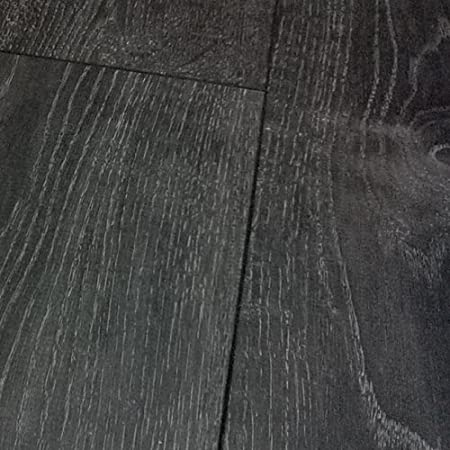 Chene Tokyo Oak Black Grey Laminate Flooring 8mm V Groove 213m2