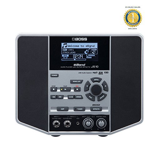 Boss eBand JS-10 Audio Player with Guitar Effects and 1 Year Free Extended Warranty
