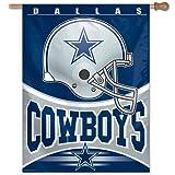"Dallas Cowboys Official NFL 27"" x 37"" Banner Flag"