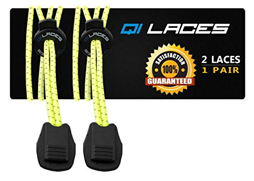 Qi Laces No Tie Elastic Shoelaces for Running