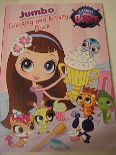 Littlest Pet Shop Coloring and Activity Book ~ Cupcake Contest -