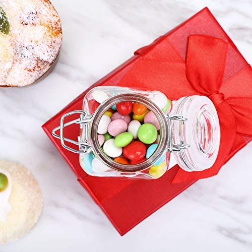 Mikash 4 oz Glass Jars Wedding Party Favors Holders Decorations Wholesale Discount Sale | Model WDDNGDCRTN - 4041 | 144 pcs
