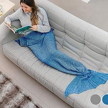 Eurowebb Cola Protectora Sirena - Manta para un sofá de ...