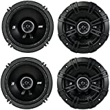 4) Kicker 43DSC504 D-Series 5.25 400W 2-Way 4-Ohm Car Audio Coaxial Speakers