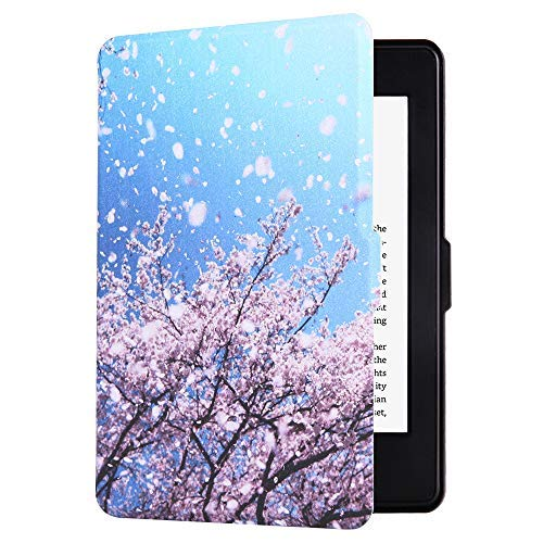 Huasiru Painting Case for Kindle Paperwhite, Lamei - fits All Paperwhite Gens Prior to 2018 (Will not fit All-New Paperwhite 10th Gen)