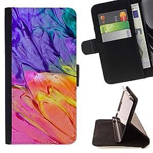 Momo Phone Case / Flip Funda de Cuero Case Cover - Guash Acuarelas Paleta;;;;;;;; - LG G4