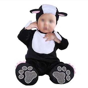 YeahiBaby Pijamas de Animales Traje de Animal con Capucha de Bebes ...