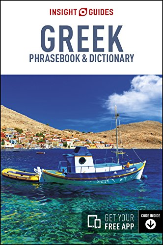 Greek. Insight Guides. Phrasebooks [Idioma Inglés] por Vv.Aa.