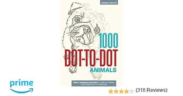 Amazon.com: 1000 Dot-to-Dot: Animals (9781626860858): Thomas ...