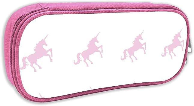 Estuche de lápices Infantil,Unicornio Suave Rosa en Blanco_3351, Rosa: Amazon.es: Juguetes y juegos