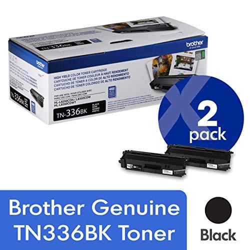 Brother Genuine TN336BK Cartridge Approximately product image