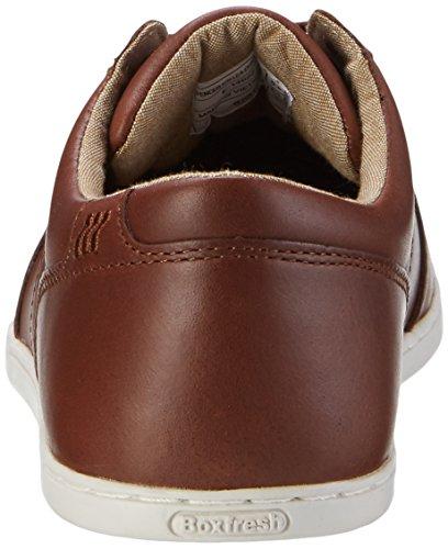 Boxfresh Spencer ICN Lea Chnt/TPE, Sneaker Uomo Marrone (Braun)