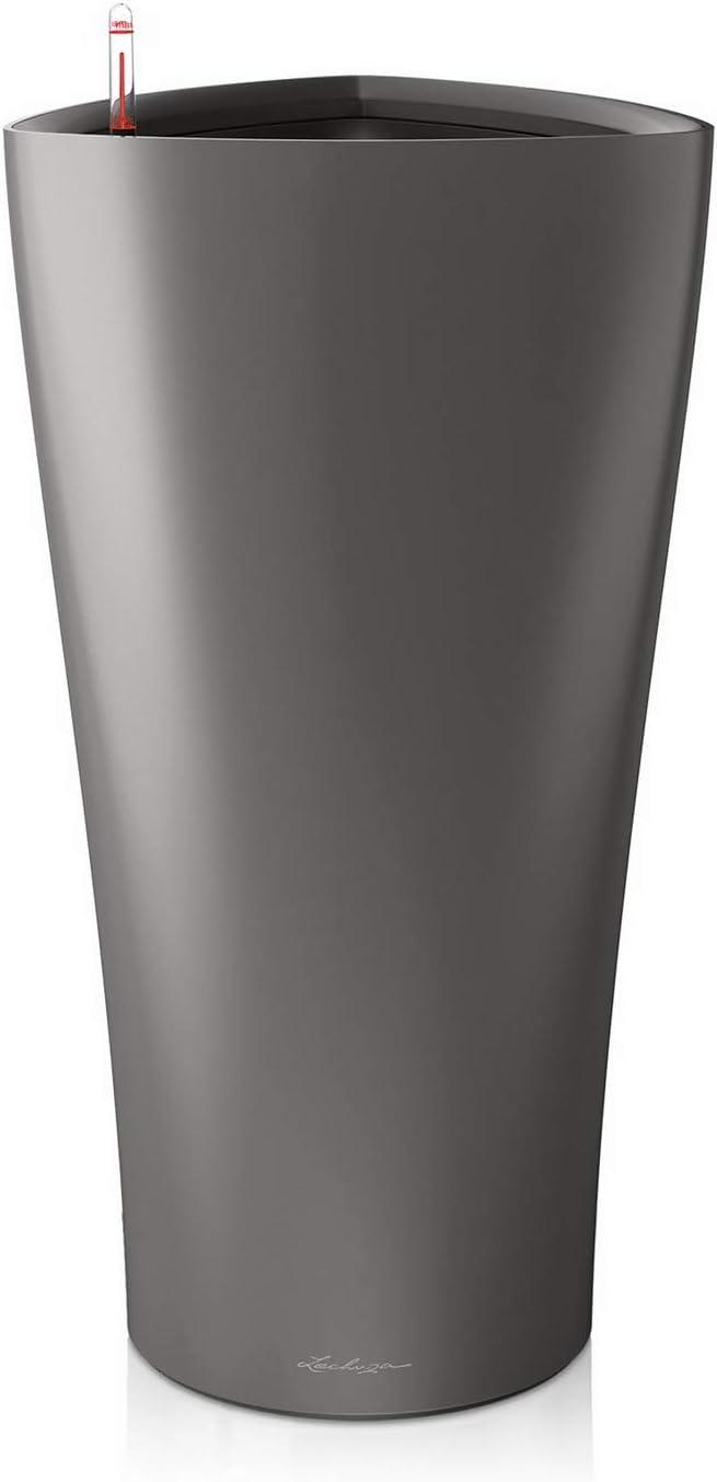 LECHUZA 15503 Delta Premium 30 Kit Complet Anthracite Métallisé,