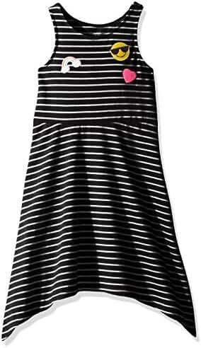 The Children's Place Girls' Sharkbite Hem Dress