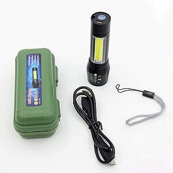 Magnet Hanging Torch Hiking Lamp Mini Lantern LED Flashlight Pocket Light