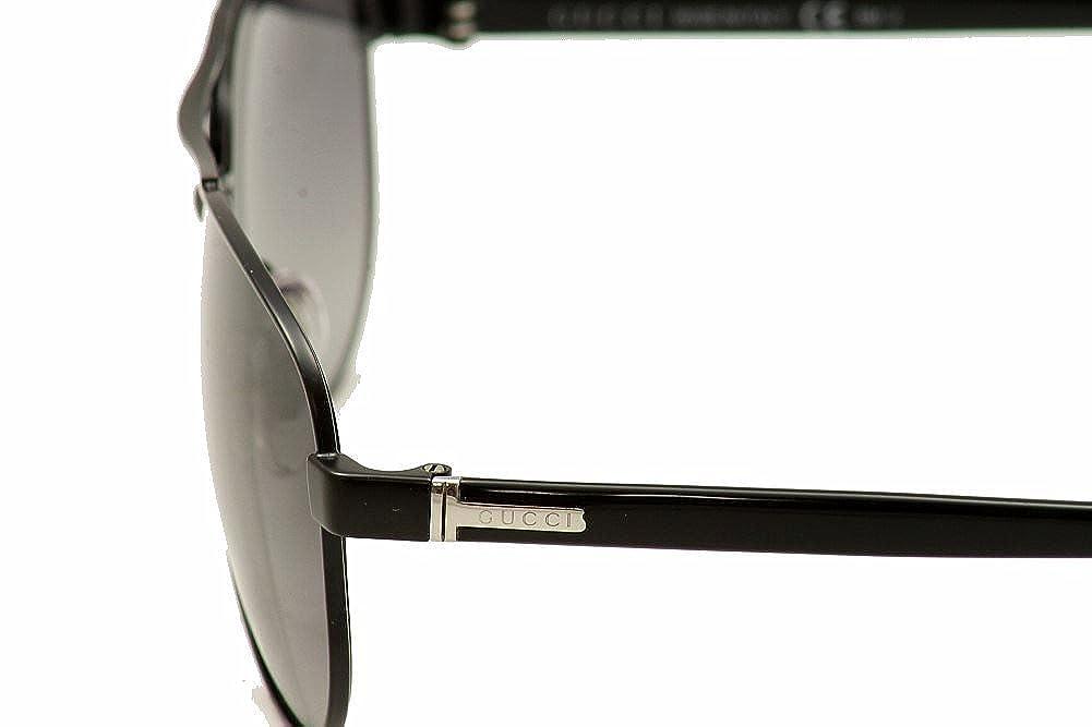 Gafas de Sol Gucci GG 2236/S SMTBLK BK: Amazon.es: Ropa y ...
