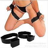 Sex Toys, 2 Pair BDSM Handcuffs Kingfansion Leg Thigh Straps Bondage Set Restraints Fetish Sex Toy