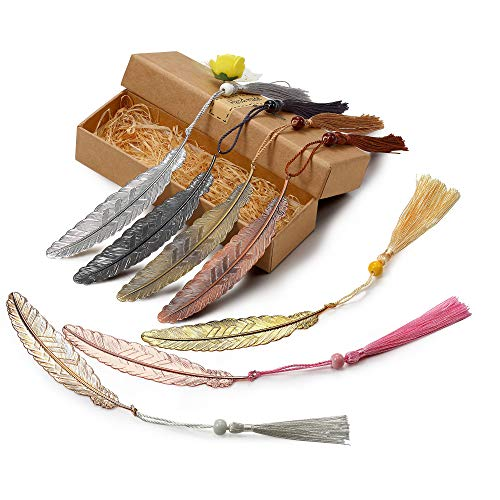 Vintage Feather Bookmarks Tassels Collections product image