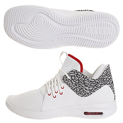 Chaussures Class gris First Taille Jordan 42 5 Blanc rouge Air Udqw1B