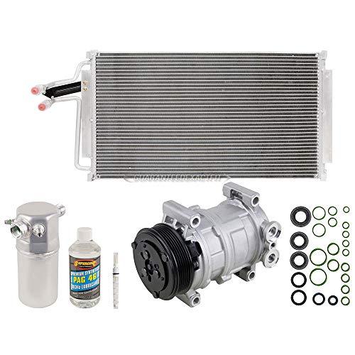 A/C Kit w/AC Compressor Condenser Drier For Chevy S10 Blazer GMC Isuzu Olds - BuyAutoParts 60-82421CK New ()