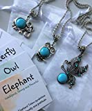 Best Smiling Wisdom Friend Necklace Kids - Smiling Wisdom - Turquoise Totem Animals Girls Necklace Review