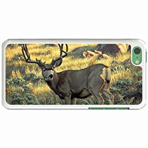 Lmf DIY phone caseCustom Fashion Design Apple iphone 6 4.7 inch Back Cover Case Personalized Customized Diy Gifts In Alerted deer WhiteLmf DIY phone case