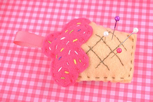 - Soft Felt Pincushion Cupcake