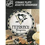 Memory Company NHL-PPE-613 Pittsburgh Penguins Game Day Ceramic Plate, One Size, Multi Color