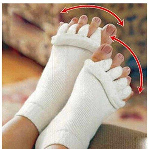 Wall of Dragon Sock Five Toe Separator Socks Toe Massage spa Yoga Foot Alignment Socks For Pain Relief Women Footcare