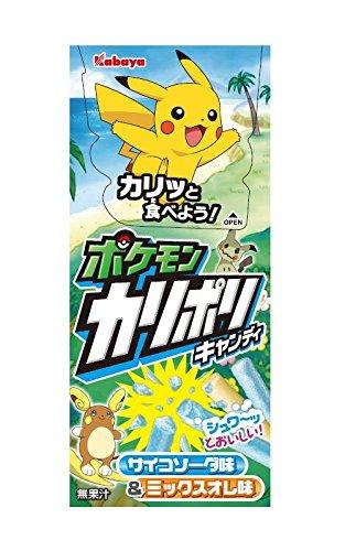 Kabaya Pokemon Karipori 6 bolsas cajas X10: Amazon.es: Alimentación y bebidas